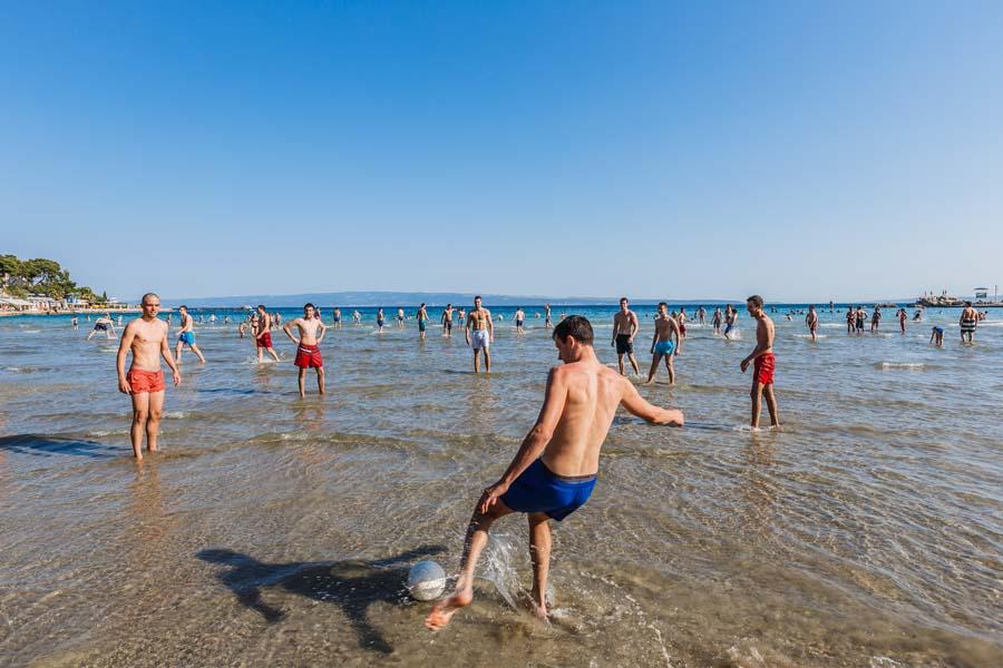 city beach split kroatia