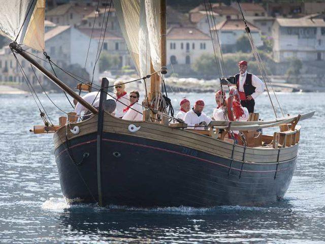Onboard a Traditional Croatian Sailing Ship