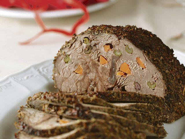 Carrot-Filled Lamb Chops Recipe