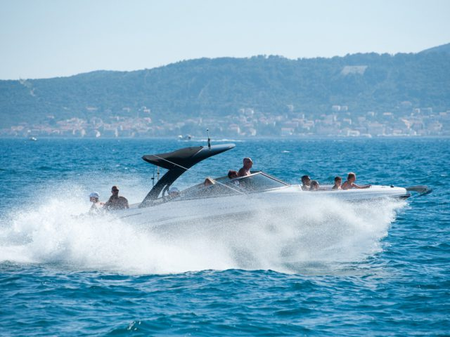 Full Throttle Above Adriatic Waves