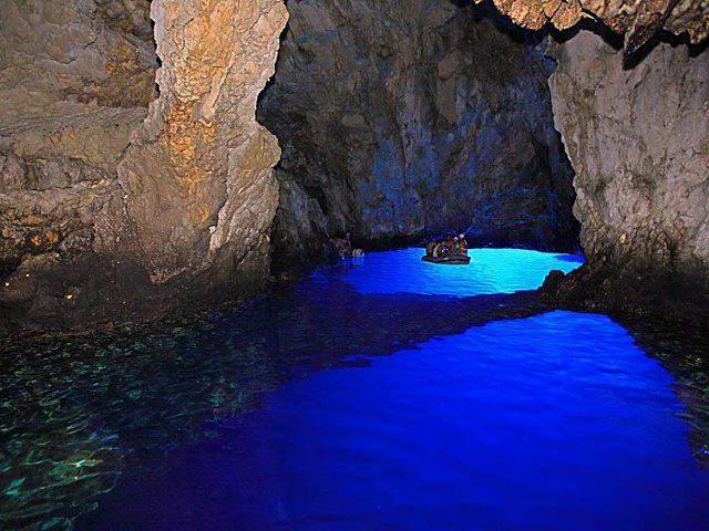 The Blue Depths of Modra Spilja