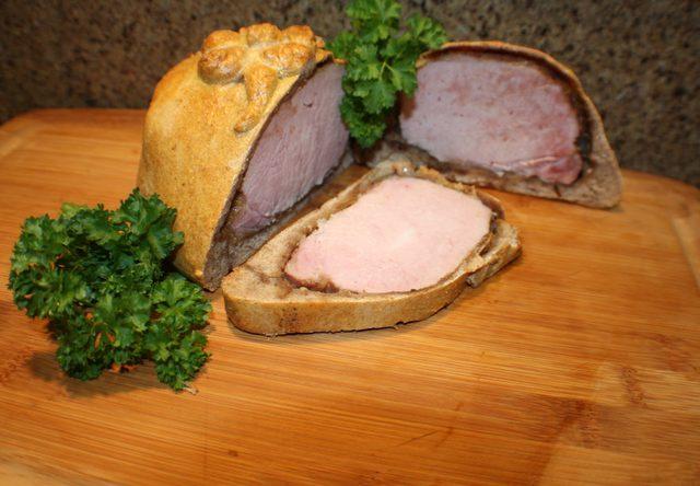 Roasted Ham in Bread Recipe