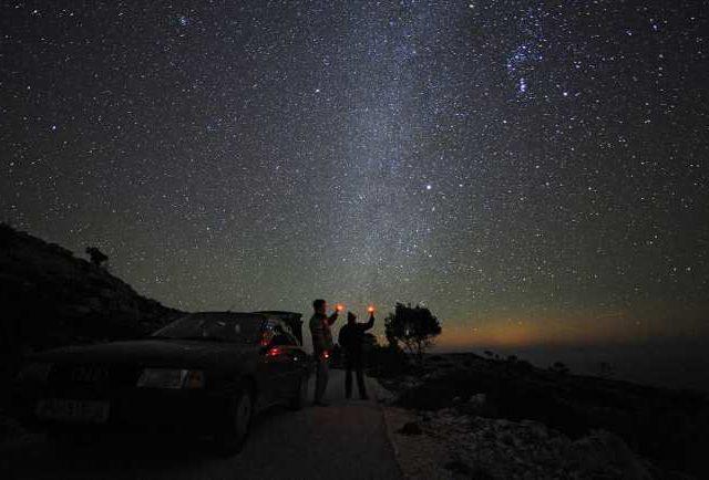 Night Sky of Croatia