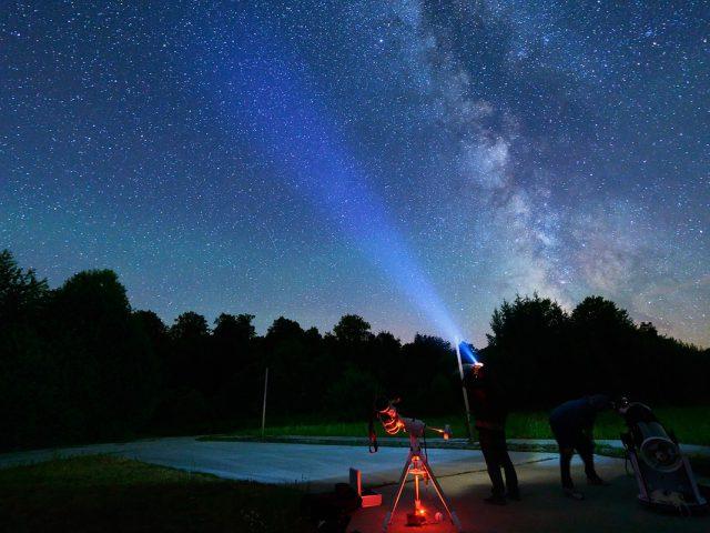 Stars above Petrova Gora by Boris Stromar