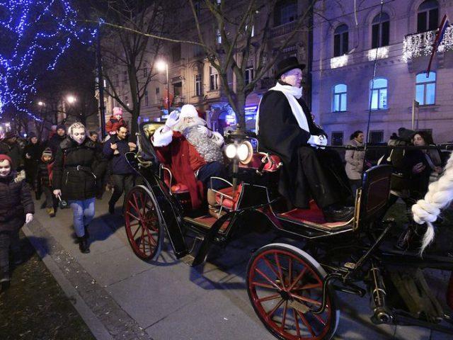 Santa in Zagreb