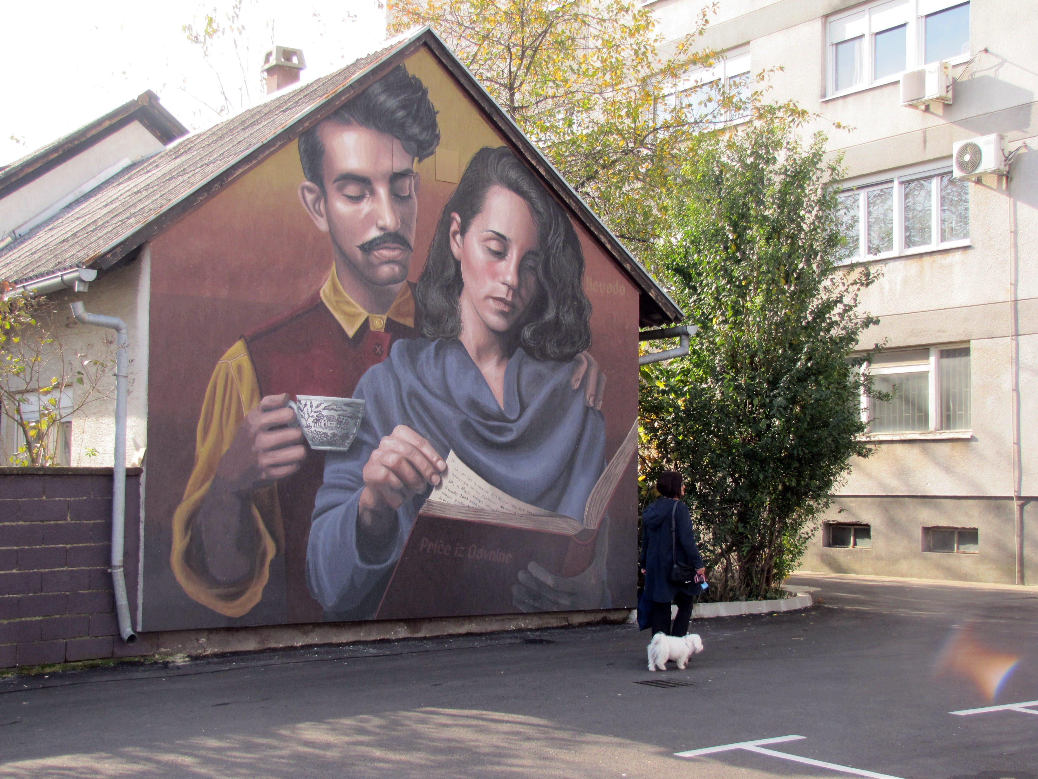 Murals of Sisak