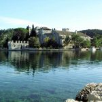 Mljet, island, monastery, Croatia, vacation