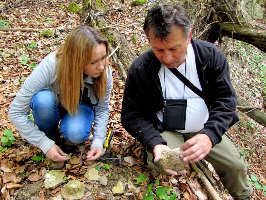 Sl. Brod, 23.04.2014 - Na lokalitetu Kamenice 10 km od Slavonskog Broda jasno se vide ostaci Panonskog mora
