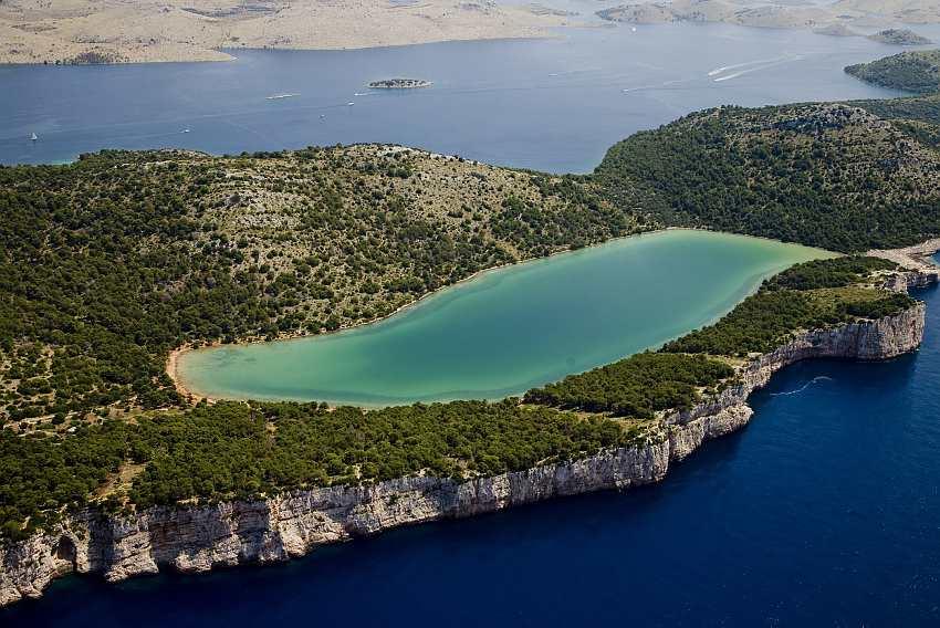 Dugo Otok, Lake, Adriatic, Beauty