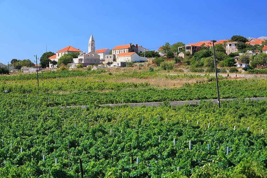 Lumbarda, village, Croatia, romantic