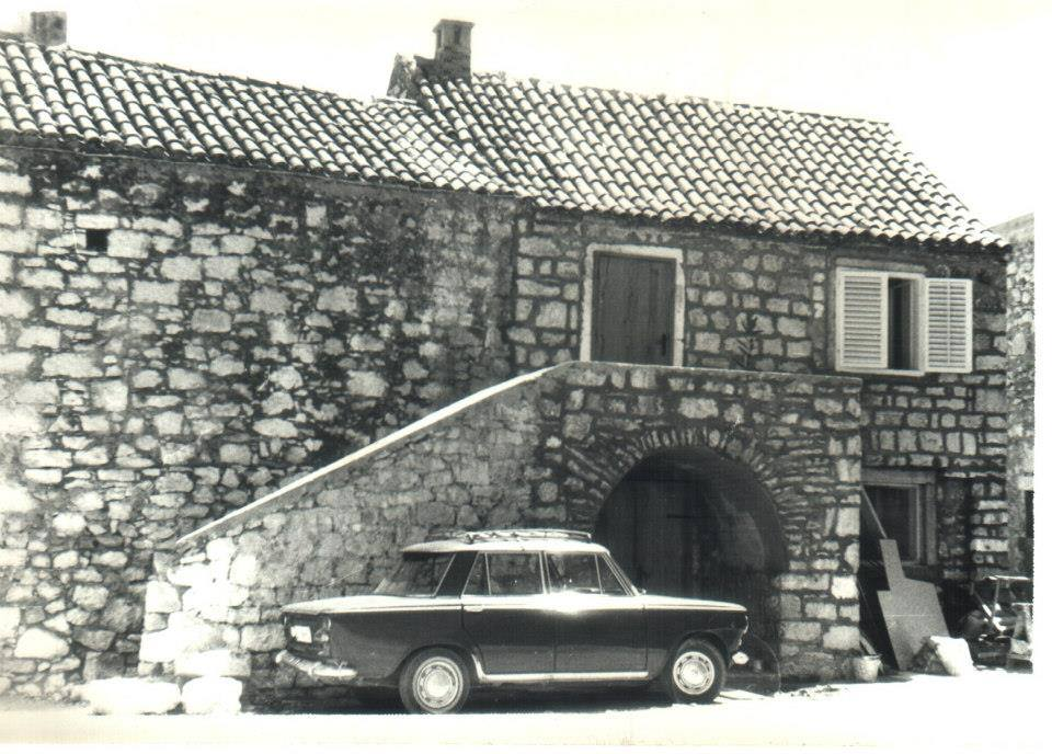 Tribunj, Vintage, Adriatic, Black and White (4)