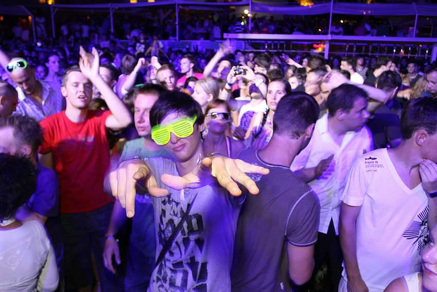 Zrce, party, night, concert, cool, dancing