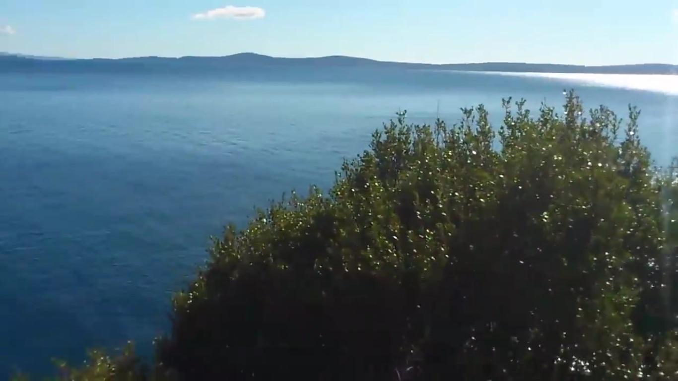 Sea, Coast, Path to Sanctuary of Ciovo