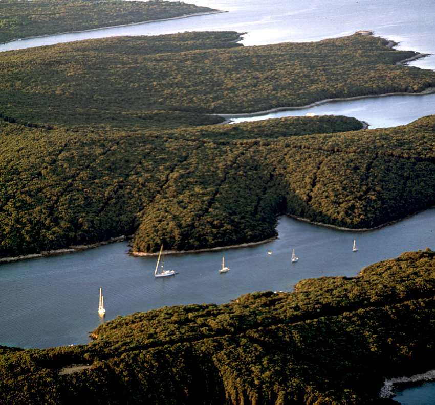 Cres, Adriatic, Island, Sailboats, Croatia