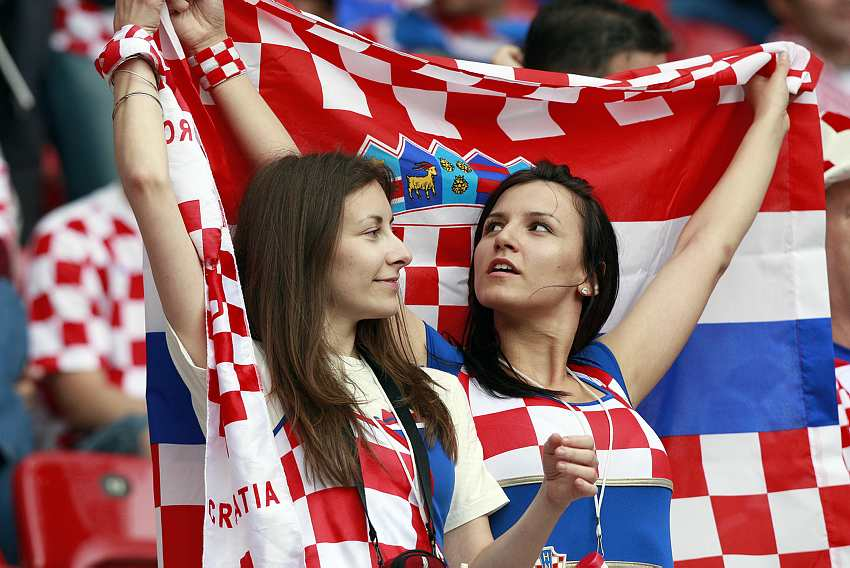 The 50 Hottest Football Fans Around The World - Sexy FIFA Fans |Croatia Soccer Fans