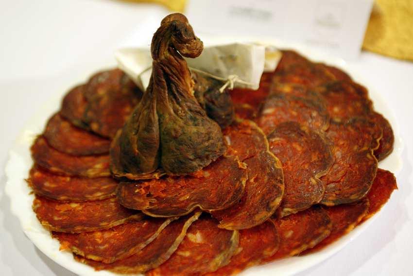 kulen, dry meat