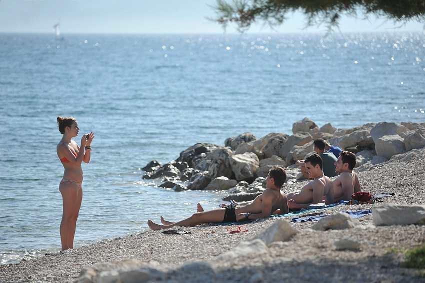 Sunbathing Croatia