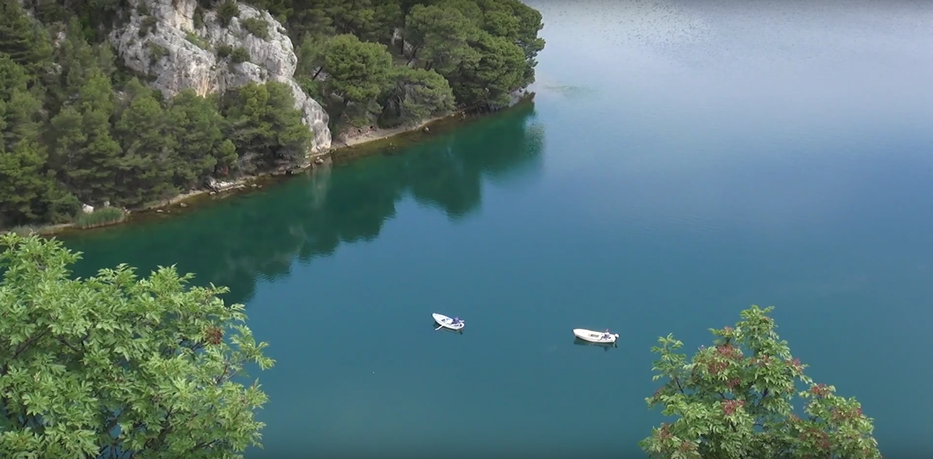 Beauty of Skradin, water