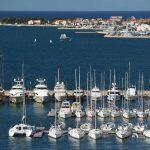 Zadar sailboats