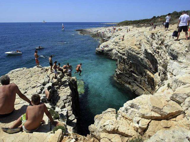 15-Meter Dive into Adriatic Sea