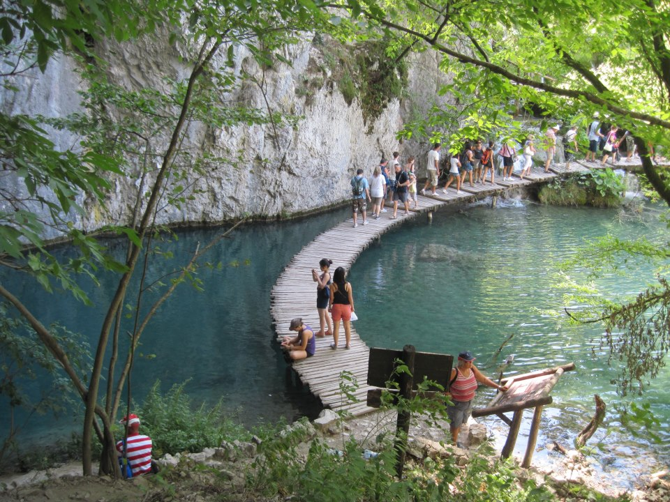 Plitvice Lakes Courtesy of Elisabetta Marianecci
