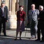 Zagreb, 22.10.2014 - Danska kraljica Margareta II u drustvu supruga posjetila je zagrebacku katedralu