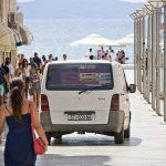 Van in Croatia