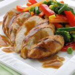 Chicken Fillets in Orange Sauce
