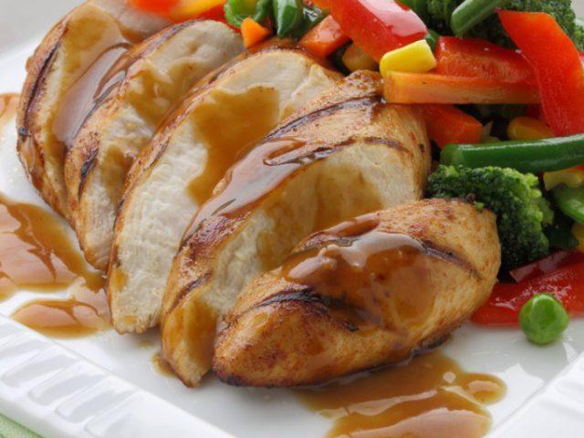 Chicken Fillets in Orange Sauce