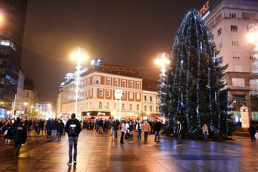 The Christmas Heart in Zagreb