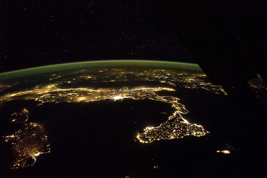 What Croatia Looks Like From Space