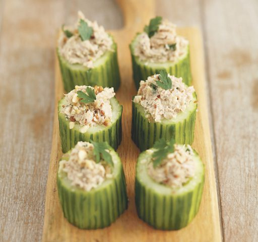 Tuna Cucumbers Recipe