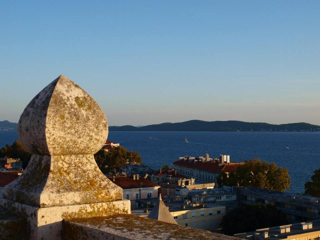 View from Zadar Bell tower