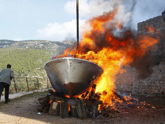 Burning Boats for St. Nicholas Day