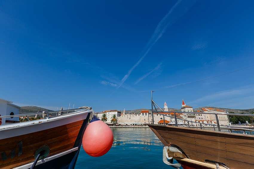 Trogir Boats, Enjoying the Docks