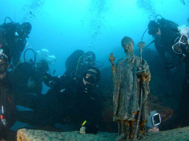 Underwater Pilgrimage to St. Nicholas