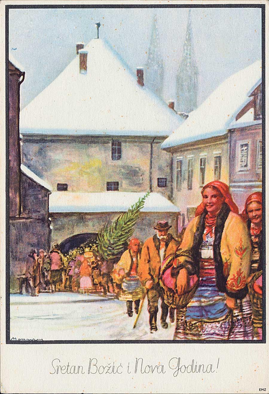 Vintage Christmas Photos of Zagreb Revealed