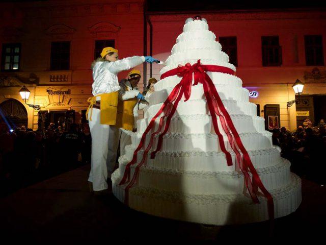 Osijek Christmas Cake
