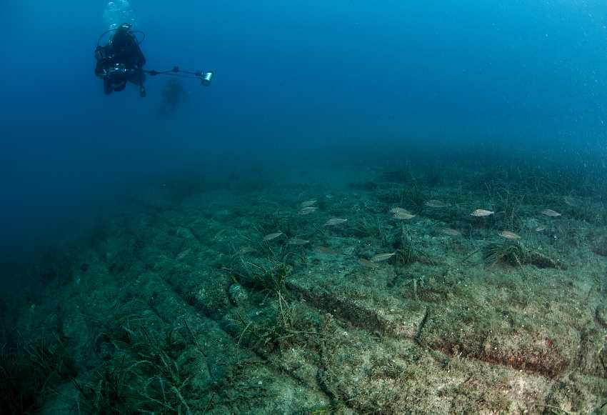 Diving Above Croatian Atlantis