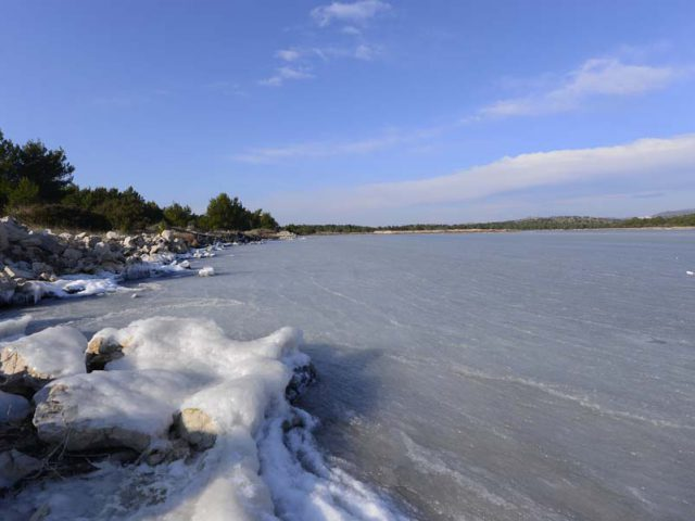 The Frozen Sites of Dalmatia