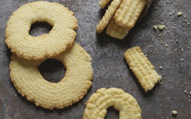 Granny's Butter Cookies Recipe