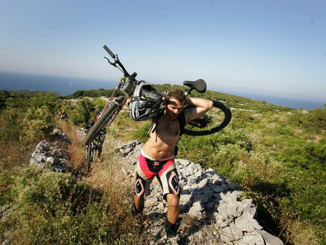 Gearing Up for Mountain Bike Race