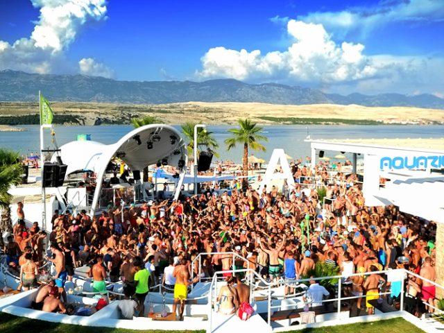 Zrce Beach Crowd is Very Hot