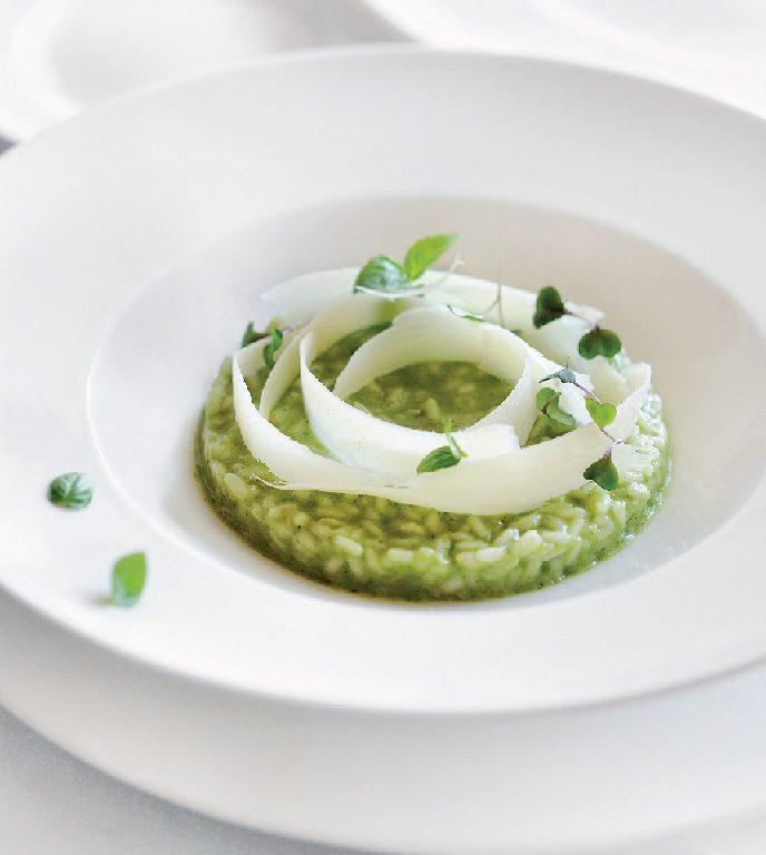 Creamy Green Risotto