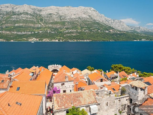 Roofs of Korcula