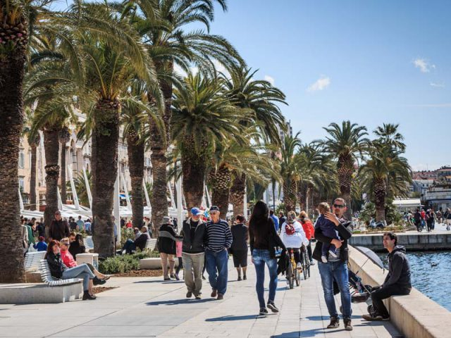 Walking Through History Called Split Promenade