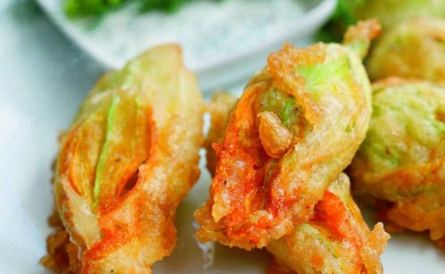 Stuffed Zucchini Flowers Recipe - LikeCroatia