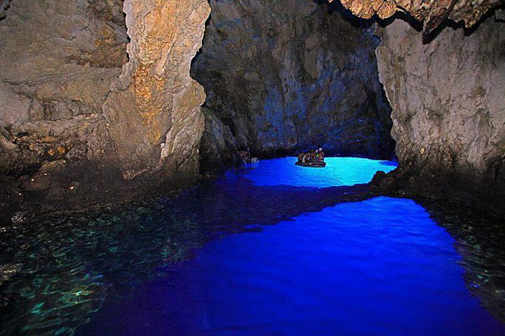 The Blue Depths of Modra Spilja