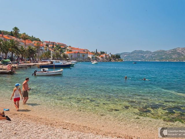 Korcula Beach - Creative Photography