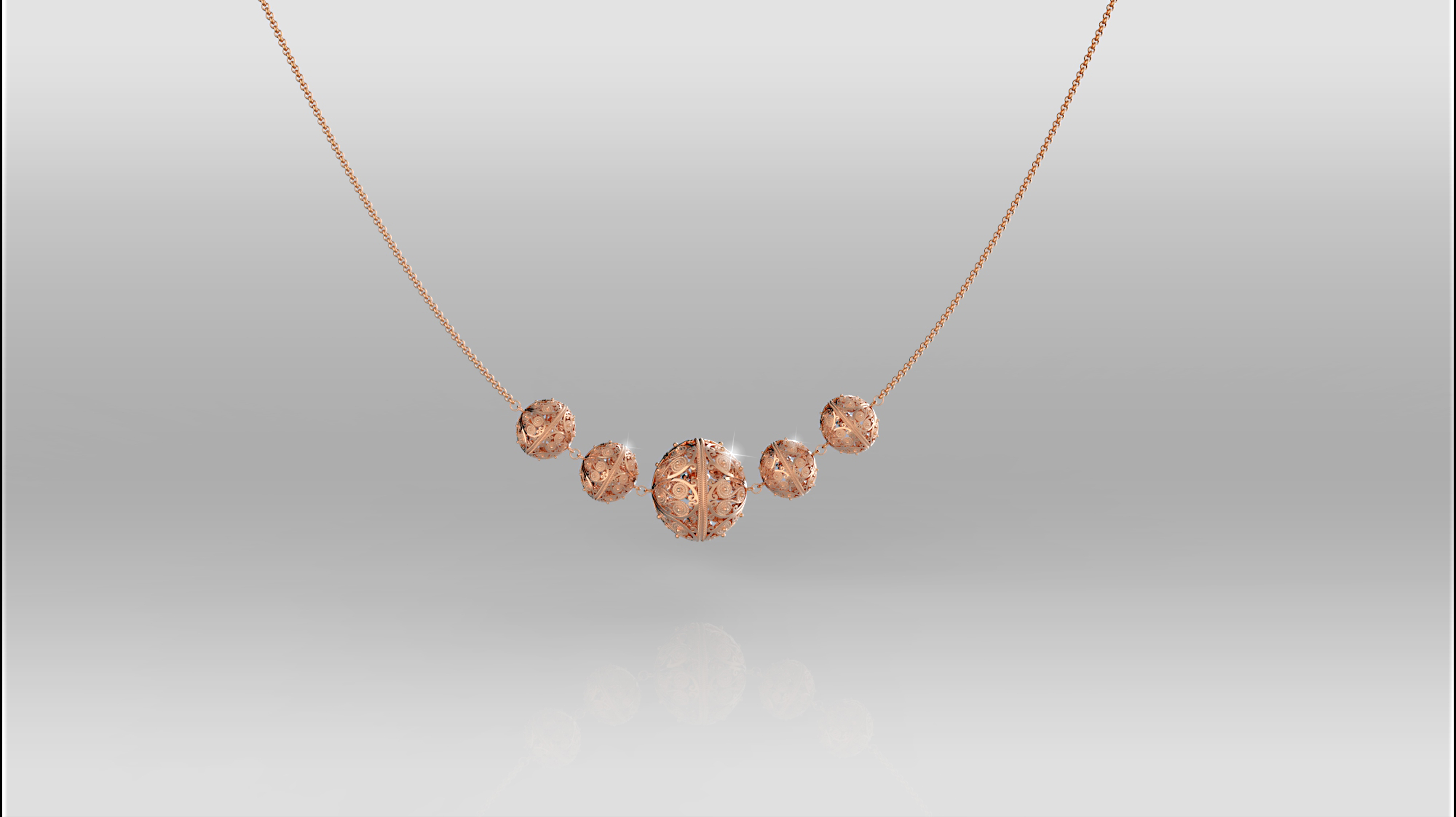 Necklace by Argentum